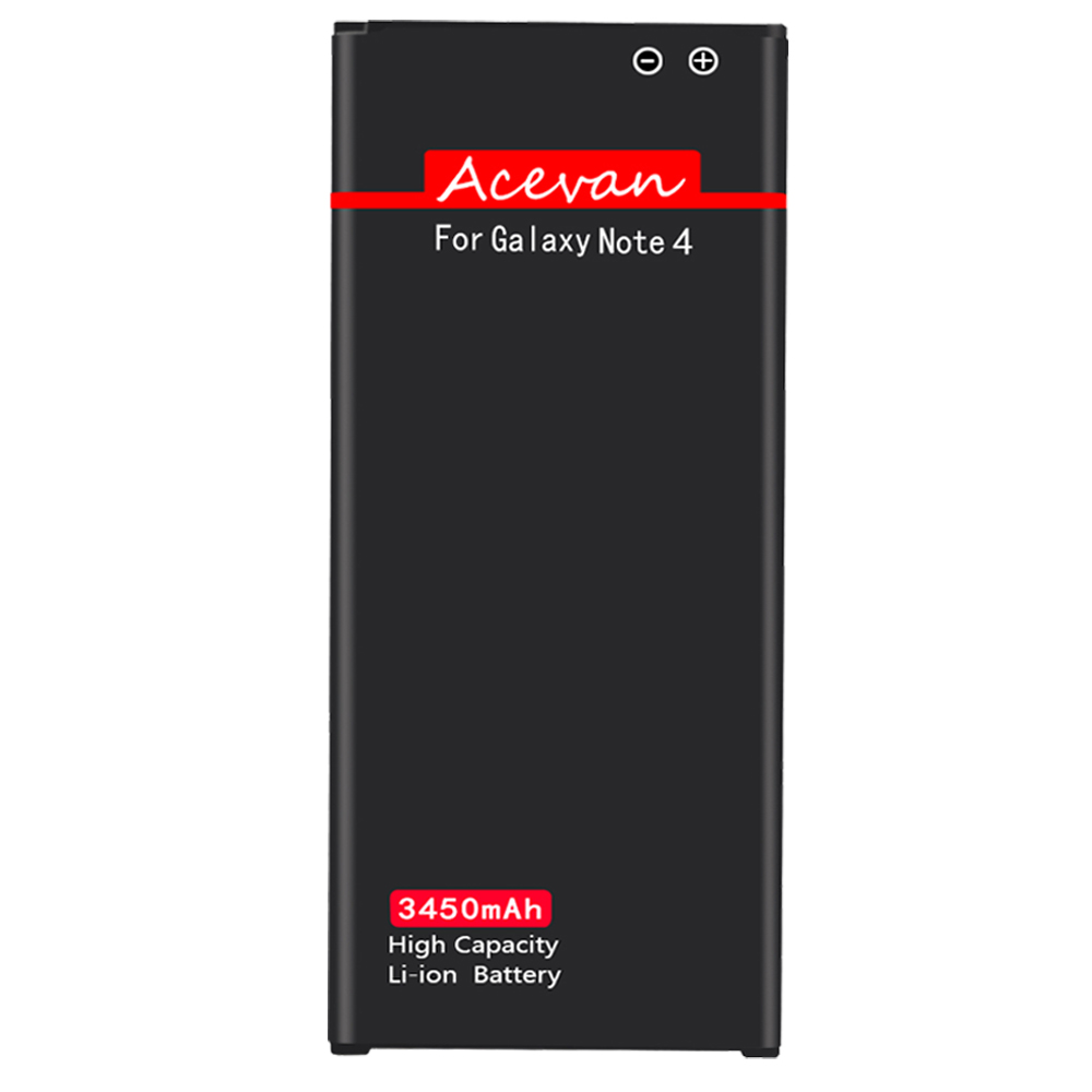 Galaxy Note 4 Battery, Acevan 3450mAh Replacement Battery for
